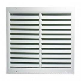 Větrací mřížka z vysoce kvalitního extrudovaného hliníku - 500x500 mm, bílá