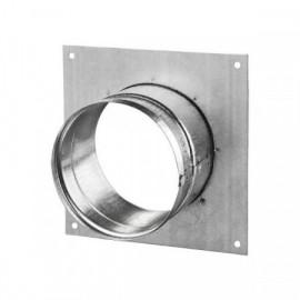 Příruba s rámečkem DFK 100 mm kovová Zn