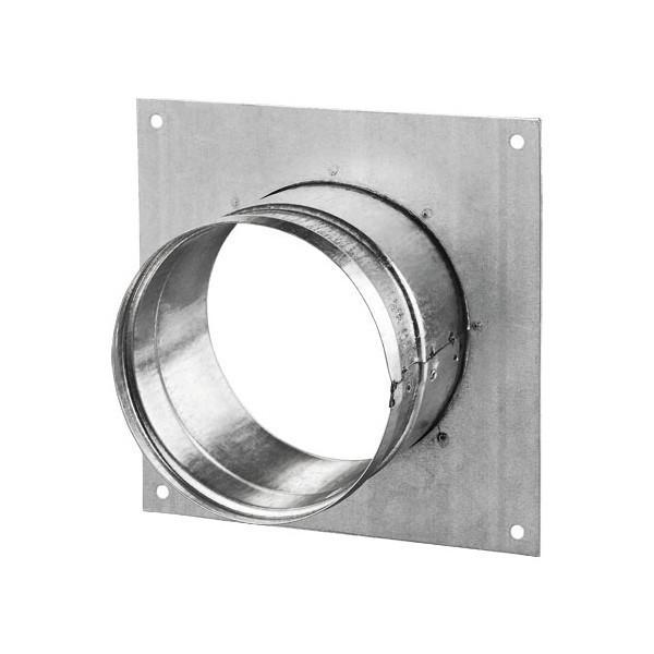 Příruba s rámečkem DFK 200 mm kovová Zn