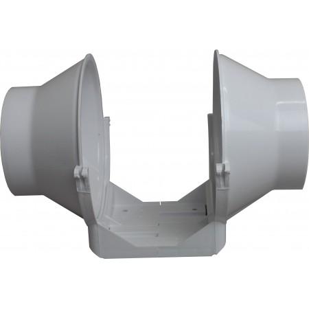 Čtyřhranné potrubí  plastové 204x60mm/0,5m