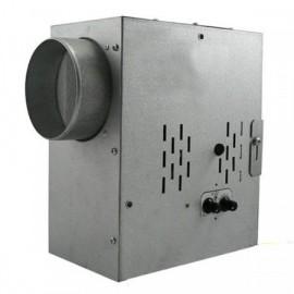 Ventilátor radiální do potrubí SPV 125 tichý, kuličková ložiska, termostat