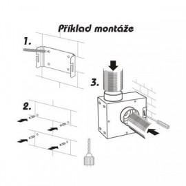Ventilátor radiální do potrubí SPV 315 tichý