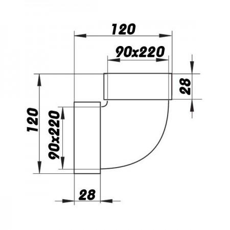 Revizní dvířka do sádrokartonu 300x300x12,5 GKB CZ