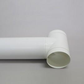Rozbočka T - spojka PVC Ø 100 mm