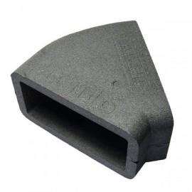 Izolace pro 45st. hranaté PVC koleno, 220x90mm