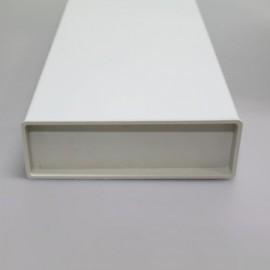 PVC záslepka na čtyřhranné potrubí 110x55 mm