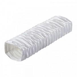 Flexi potrubí plastové čtyřhranné Polyvent - 220x90 mm/0,5m