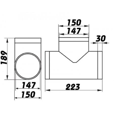 Domácí ventilátor Vents 150 LDAL - s kuličkovými ložisky