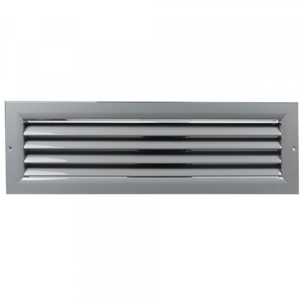 Větrací mřížka z vysoce kvalitního extrudovaného hliníku - 900x500 mm, šedá