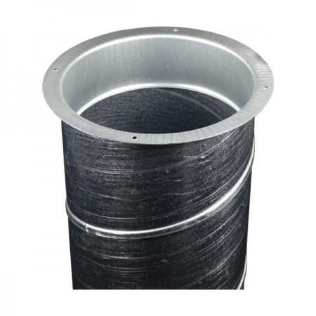 Spojka pro kruhové PVC potrubí Ø100mm - vnitřní