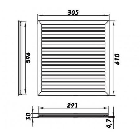 Stropní ventilátor se světlem Westinghouse 78525 - Audubon