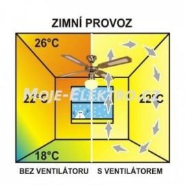 Stropní ventilátor se světlem Westinghouse 72557 - Bendan