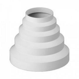 Redukce pro kruhové potrubí   80/100/125/150 mm