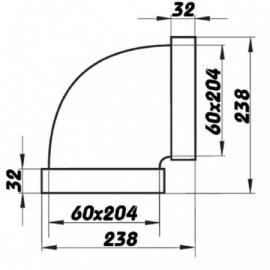 Ventilátor do potrubí TT 125 S - silnější motor