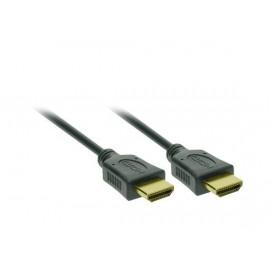 Solight HDMI kabel s Ethernetem, HDMI 1.4 A konektor - HDMI 1.4 A konektor, blistr, 1,5m