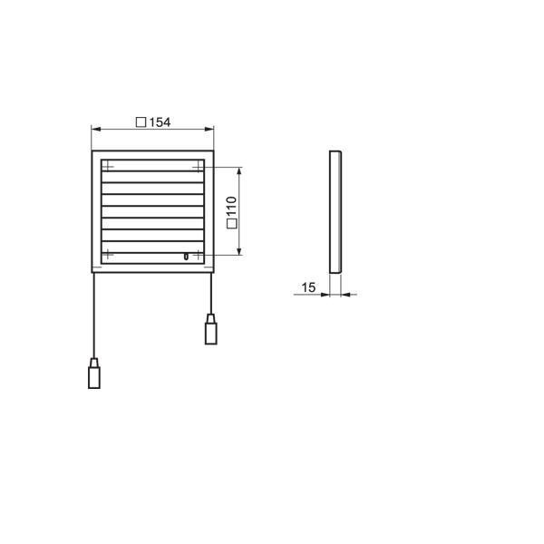 Krbový ventilátor  Vents KAM 150