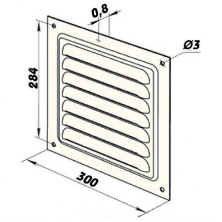 Anténní TV konektor - zásuvka úhlová
