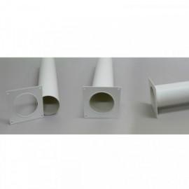 Montážní rámeček pro kulaté potrubí Ø125mm