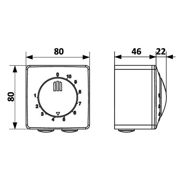 Domácí ventilátor Vents 100 SL - s kuličkovými ložisky
