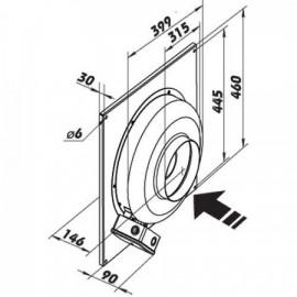 Průmyslový ventilátor DALAP RCV 315