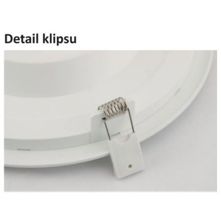 LED svítidlo s čidlem pohybu  DITA ROUND 14W NW cover, bílá