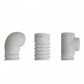 Flexi potrubí plastové kulaté Polyvent - Ø150mm/1m