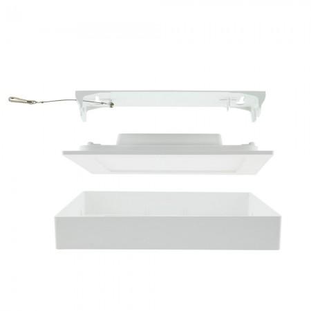 Luxusní dekorační LED svítidlo MOZA 14V / IP44 - ocel, WW