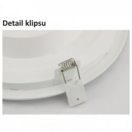 Bodovka do koupelny LED BONO-R, 5W, NW, IP65 chrom mat.