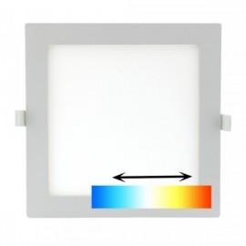 LED svítidlo do podhledu UNI 22x22cm, 18W, 1700lm, 3000/4000/6000K, IP20