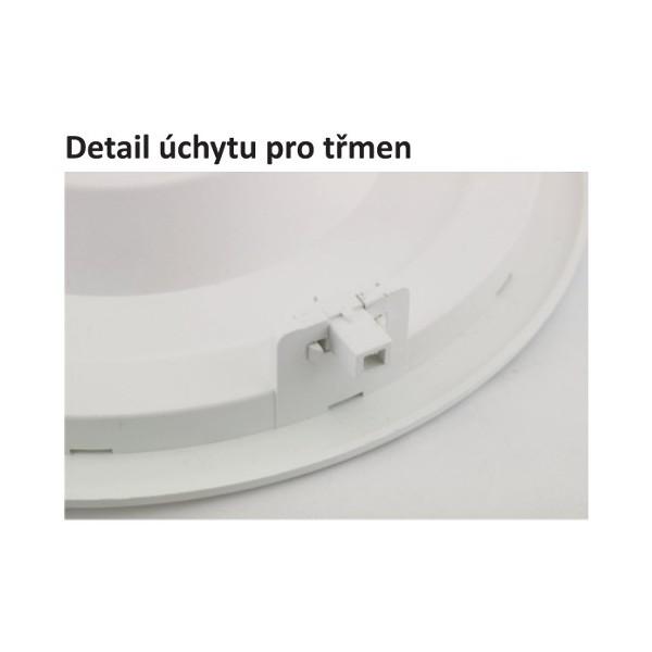 Bodovka do sádrokartonu výklopná IZZY DTO50-AL hranatá - hliníková