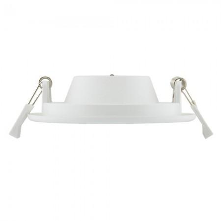 Stolní lupa s osvětlením LED, 5D, se svorkou, bílá