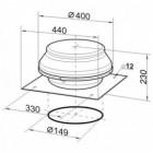 Střešní ventilátor Dalap ARKAS 150