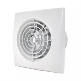 Ventilátor DALAP 100 NOMIA ZW tichý se zpětnou klapkou, časovač, hygrostat