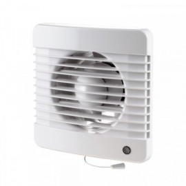 Ventilátor Dalap 100 Grace - vyšší tlak s tahovým spínačem, časovač, hydrostat