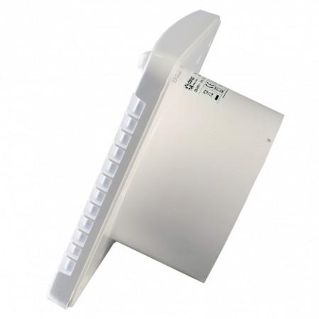 Větrací mřížka z vysoce kvalitního extrudovaného hliníku - 300x100 mm, bílá
