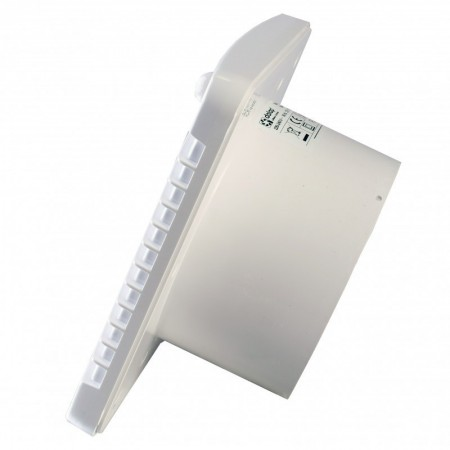 Větrací mřížka z vysoce kvalitního extrudovaného hliníku - 400x200 mm, bílá