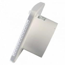 Větrací mřížka z vysoce kvalitního extrudovaného hliníku - 600x150 mm, bílá