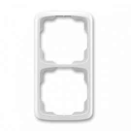 Rámeček ABB TANGO 3901A-B21 S dvojnásobný svislý šedý