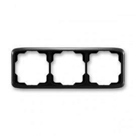Rámeček ABB TANGO 3901A-B30 N trojnásobný vodorovný černý