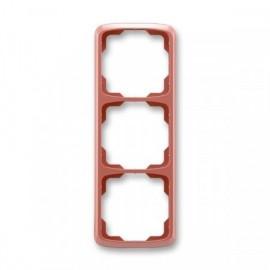 Rámeček ABB TANGO 3901A-B31 R2 trojnásobný svislý vřesově červený