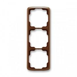 Rámeček ABB TANGO 3901A-B31 H trojnásobný svislý hnědý