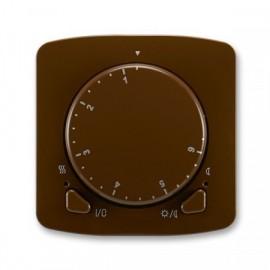 Termostat ABB TANGO 3292A-A10101 H univerzální otočný hnědý