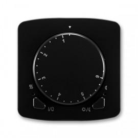 Termostat ABB TANGO 3292A-A10101 N univerzální otočný černý