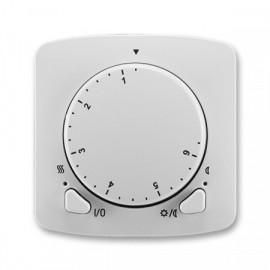 Termostat ABB TANGO 3292A-A10101 S univerzální otočný šedý