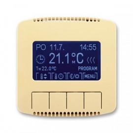Termostat ABB TANGO 3292A-A10301 D univerzální programovatelný béžový