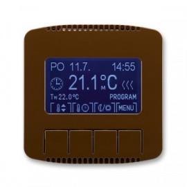 Termostat ABB TANGO 3292A-A10301 H univerzální programovatelný hnědý