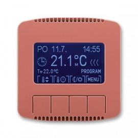 Termostat ABB TANGO 3292A-A10301 R2 univerzální programovatelný vřesově červený