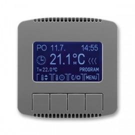 Termostat ABB TANGO 3292A-A10301 S2 univerzální programovatelný kouřově šedý