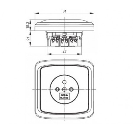 LED svítidlo prachotěsné TRUST LED PCB PS 37W NW