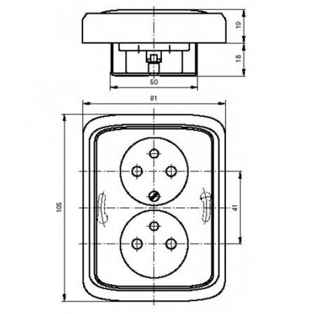 Prachotěsné led svítidlo LIBRA SMD2835 TL3903A-LED 60W